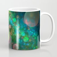psychadelic Mugs featuring Inner Space by Lyle Hatch