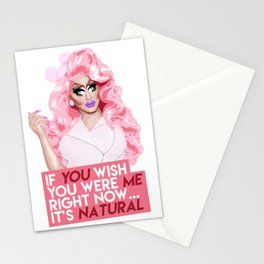 """""""If you wish you were me right now"""" Trixie Mattel, RuPaul's Drag Race Stationery Cards"""