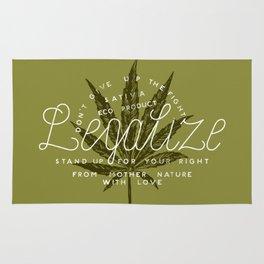 Legalize Rug