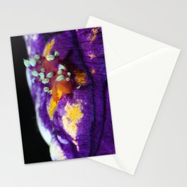 A lone traveller (supermacro flabellina) Stationery Cards