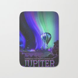 Jupiter, NASA/JPL Space Travel Poster Bath Mat