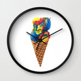 Superman Ice Cream Wall Clock