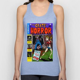 The Crate of Horror Unisex Tank Top