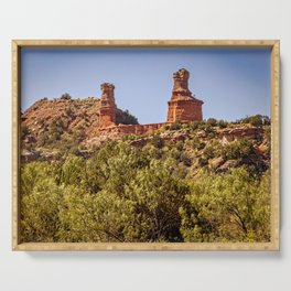 Palo Duro Lighthouse Serving Tray