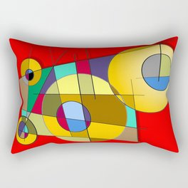 Abstract #51 Rectangular Pillow