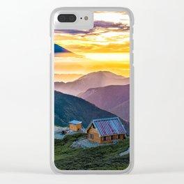 Mt Fuji I Clear iPhone Case