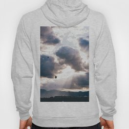 Hot Air Ballon Festival Sunrise Hoody