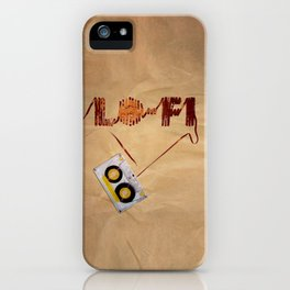 Lo-Fi iPhone Case