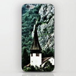 Surrounded by Mountains iPhone Skin