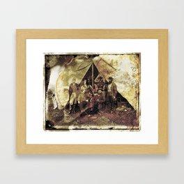 Allan Pinkerton's Ironman project Framed Art Print
