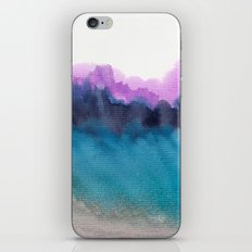 Watercolor abstract landscape 13 iPhone & iPod Skin