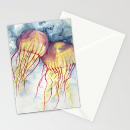 Shock Therapy/Jelly Fish Stationery Cards