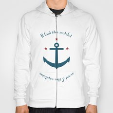 Sailor before Captain Hoody