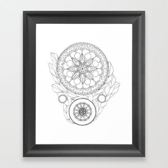 Barometer Framed Art Print