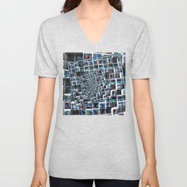 Abstract Infinity Unisex V-Neck