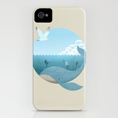 Whale & Seagull (US and THEM) Slim Case iPhone (4, 4s)