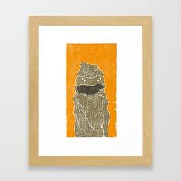Flaco Saco Paco Framed Art Print