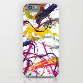 BACH: Sonata No 1 in G minor        by Kay Lipton iPhone Case