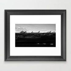 Intrepid Framed Art Print