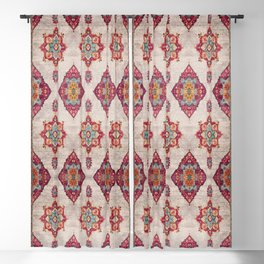 N251 - Oriental Traditional Vintage Moroccan Style  Blackout Curtain