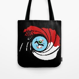 The Man with the Golden Zapper Tote Bag
