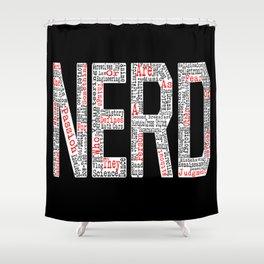 NERD. Shower Curtain