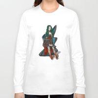 doll Long Sleeve T-shirts featuring Doll by Viktor Macháček