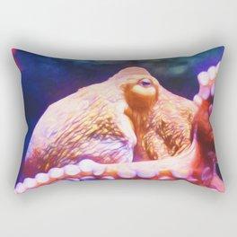 RAINBOW OCTOPUS Rectangular Pillow