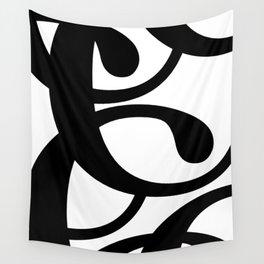 Hidden Letters. Baskerville C Wall Tapestry