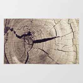 Cracks in Time Rug