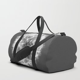Black And White Dandelion #decor #society6 #buyart #macro Duffle Bag