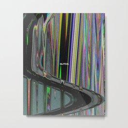 Glitch I Metal Print