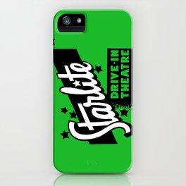 Starlite Drive In Green iPhone Case