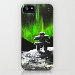 On the right path iPhone Case