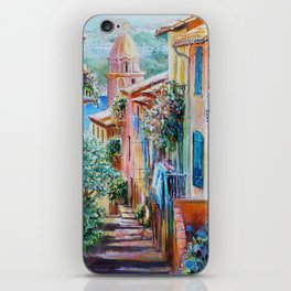 Colors of Collioure, France iPhone Skin