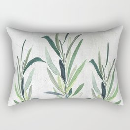 Eucalyptus Branches Rectangular Pillow