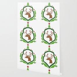 Christmas Deer Wallpaper