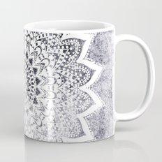 BOHO WHITE NIGHTS MANDALA Coffee Mug