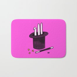 Society6 / Abracadabra ! Bath Mat