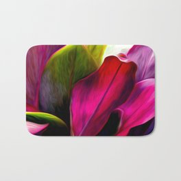 Ti Leaf Bouquet Bath Mat
