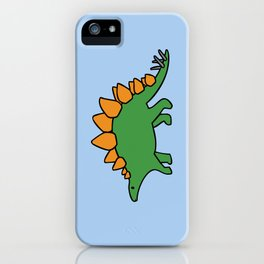 Cute Stegosaurus iPhone Case