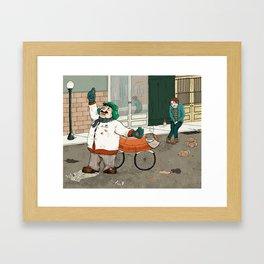 Michelle Kondrich vs. A Confederacy of Dunces Framed Art Print
