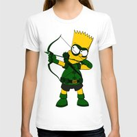 green arrow T-shirts featuring Arrow by Betmac