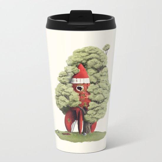 3… 2… 1… Metal Travel Mug
