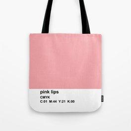 pantone inspired, CMYK, pink Tote Bag