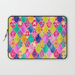 Marrakesh Tiles and Flowers Laptop Sleeve