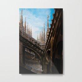Duomo di Milano spires Metal Print