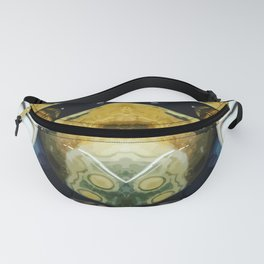 rounded stone Fanny Pack