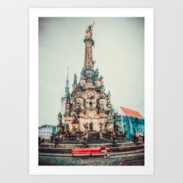 Olomouc city photo 2 #Olomouc #photo #city Art Print