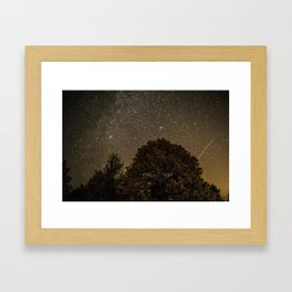 Starry Night Sky 2 Framed Art Print